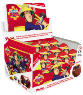 Choc. Eggs Fireman Sam Single 8×24 - thumbnail