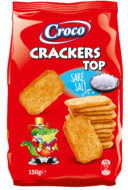 Crackers Top Zout 150 gram - thumbnail
