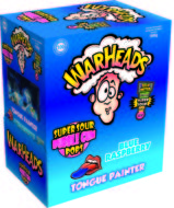 Warheads Lollies Blue Raspberry - thumbnail