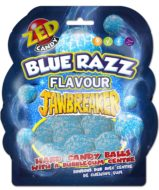 Jawbreakers Shaped Bag Blue Raspberry 132 gram - thumbnail